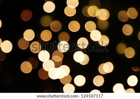 defocused circle light background - stock photo