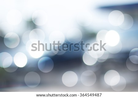 Defocused filtered bokeh abstract background. - stock photo