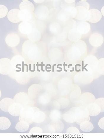 Defocused silver Christmas Bokeh  like  splashes. Christmas background. High Resolution. - stock photo