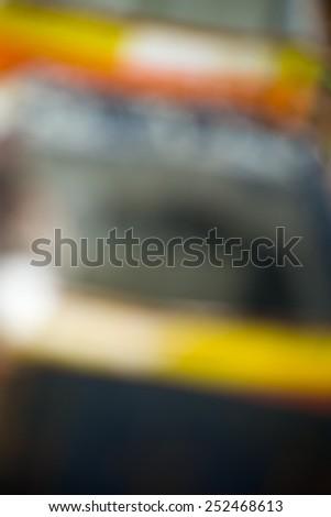 Defocused yellow and grey - stock photo