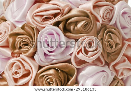 Delicate background with tender roses, place for text, for design use - stock photo