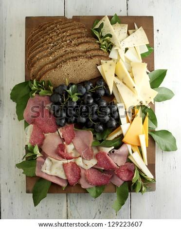 delicatessen - stock photo