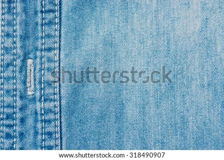 denim background - stock photo