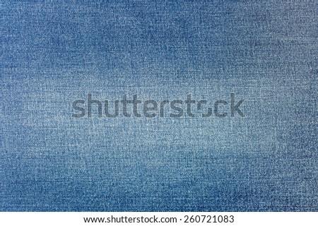 Denim fabric as background - stock photo