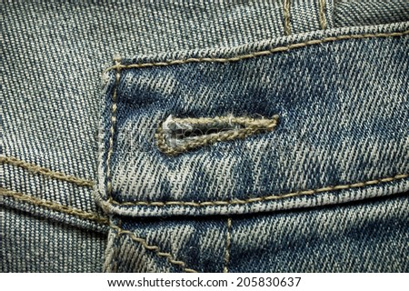 Denim texture for background  - stock photo