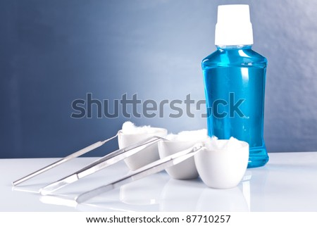 dental helth care - stock photo