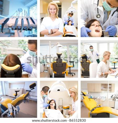 Dental mix - stock photo