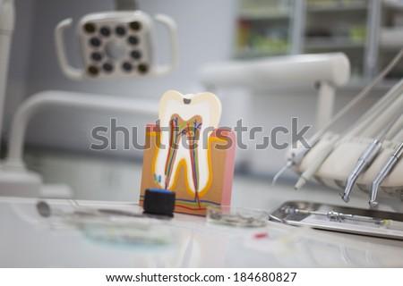 Dental Tools set  - stock photo