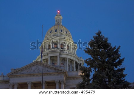 Denver Capitol Building - stock photo