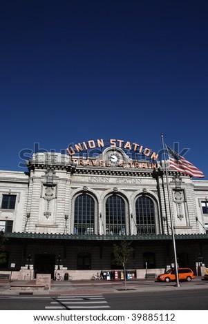Denver - Union Station - stock photo