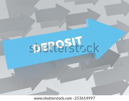 DEPOSIT - stock photo