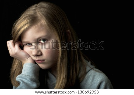 Depression - stock photo