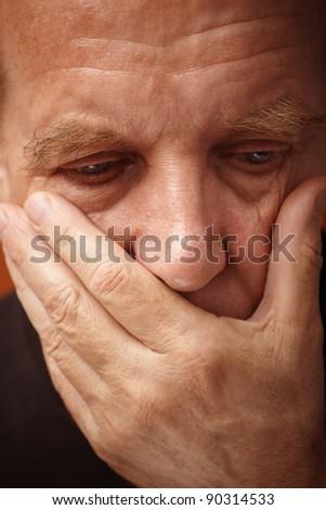 depression - stock photo