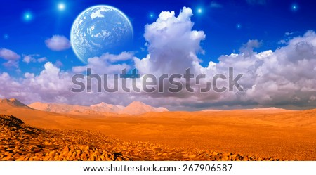Desert - stock photo