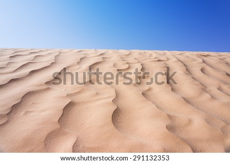 desert - stock photo