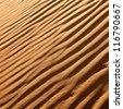 desert dunes close-up - stock photo