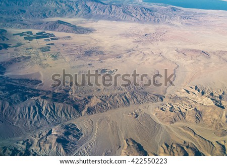 Desert Geography - stock photo