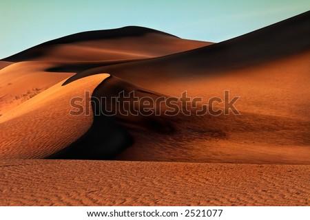 Desert Gobi - stock photo