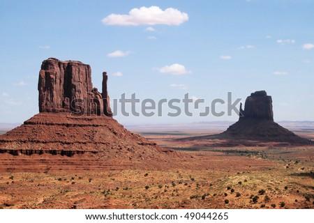 Desert Scenery - stock photo