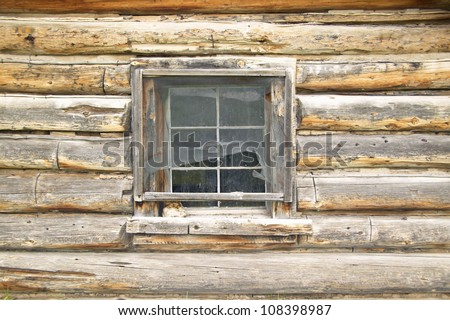 Deserted old homestead in Centennial Valley near Lakeview, Montana - stock photo