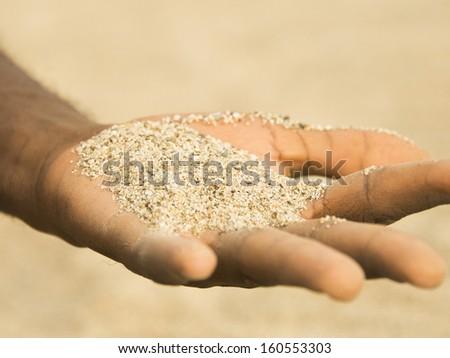 desertification in the Sahel 2  - stock photo