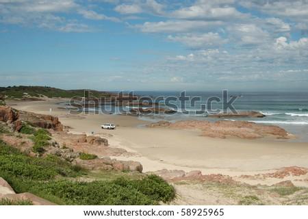 Deserts & sandunes 9, sandune and desert scenes from Australia - stock photo