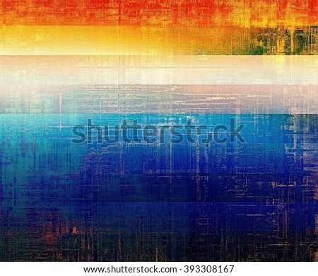 Design background or texture for retro style frame. With different color patterns: yellow (beige); blue; red (orange); pink - stock photo