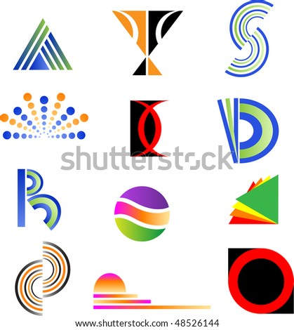 Design elements - stock photo