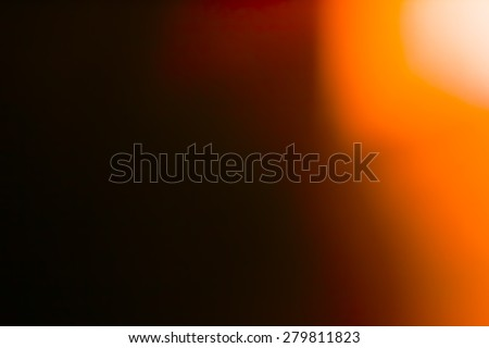 Designed film texture background with light leak - stock photo