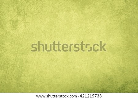 Designed grunge paper texture, Abstract green background. - stock photo