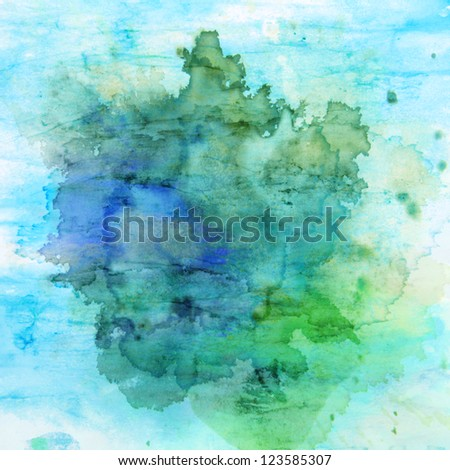 Designed grunge texture / old painted paper background. For vintage wallpaper, old paper, and art border frame - stock photo