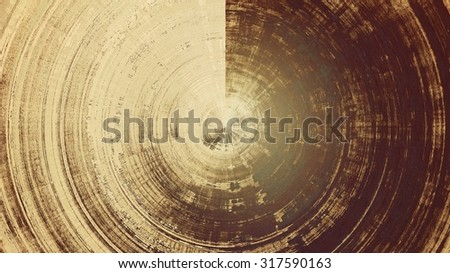 Designed grunge texture or retro background. With different color patterns: yellow (beige); brown; gray - stock photo