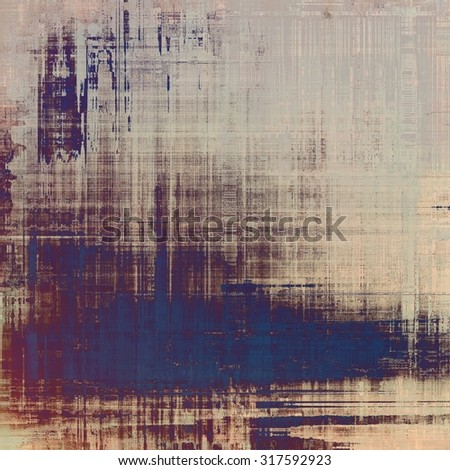 Designed grunge texture or retro background. With different color patterns: yellow (beige); gray; blue; purple (violet) - stock photo