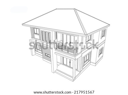 Designed to create a modern home - stock photo