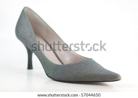 Designer High Heel Shoe - stock photo