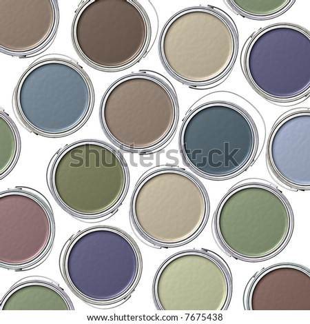 Designer Paint - stock photo