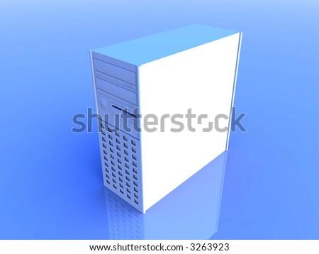 Desktop PC - stock photo