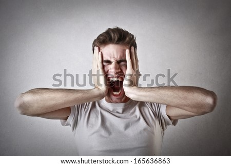 Despair - stock photo