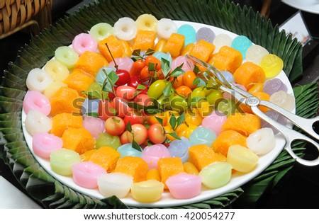 Dessert - stock photo