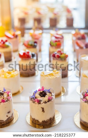 Dessert Buffet - stock photo