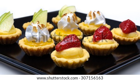 Desserts two - stock photo