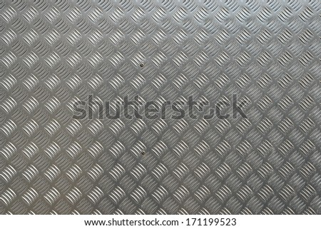 detail of a metal surface - stock photo
