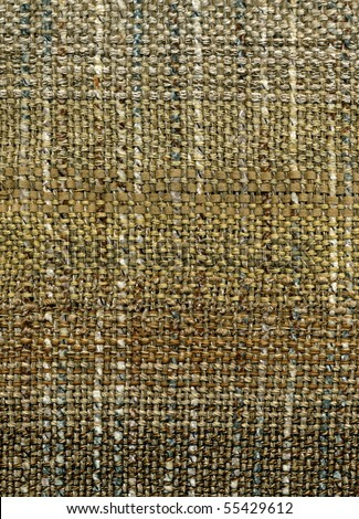 Detail of hand woven fabric - stock photo