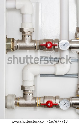 Detail of Heating System  - stock photo