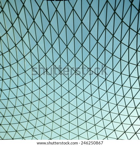 Detail of modern architecture - stock photo