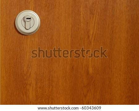 Detail of modern office door background - stock photo