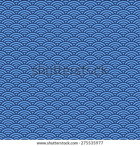 detail of pattern of Japanese paper, use for background - stock photo