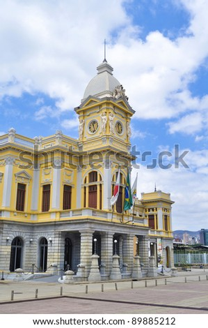 Detail of Railway station in Belo Horizonte - Minas Gerais - Bra - stock photo