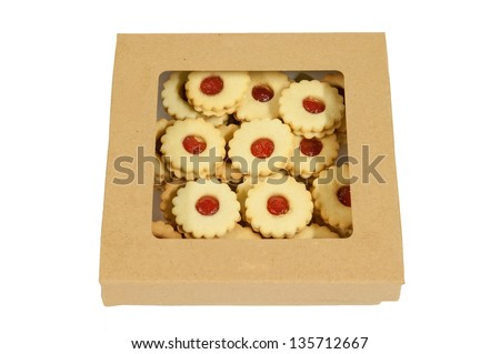 Detail of traditional Christmas pastry, horizontal shot. - stock photo