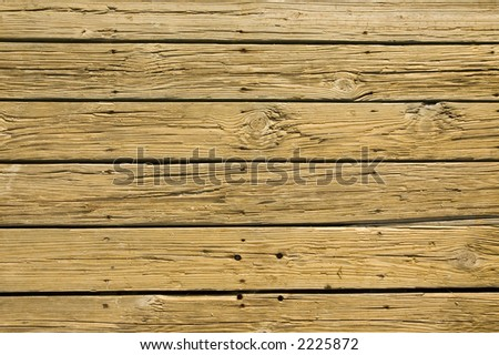 detail of wood boards - stock photo